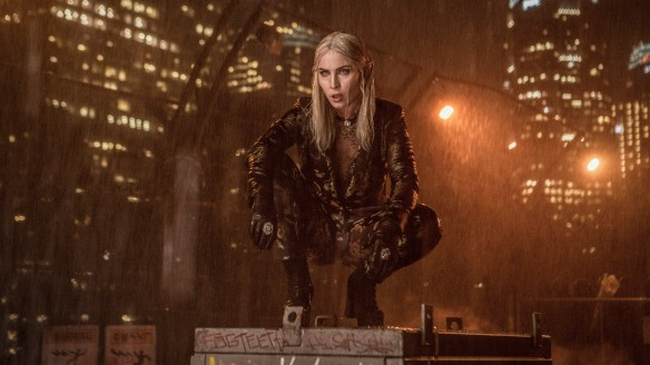 Noomi Rapace as Elven extremist Leilah in Bright