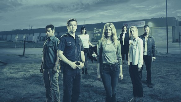 The cast of Glitch season two