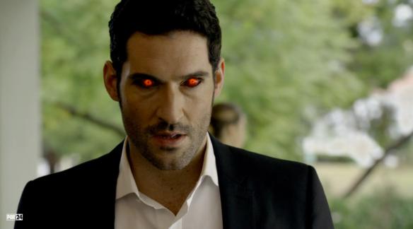 Tom Ellis as Lucifer Morningstar