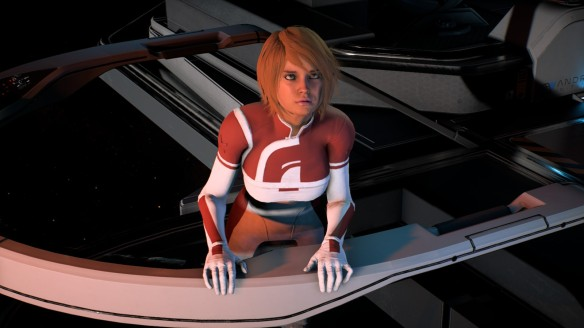 Suvi Anwar in Mass Effect: Andromeda