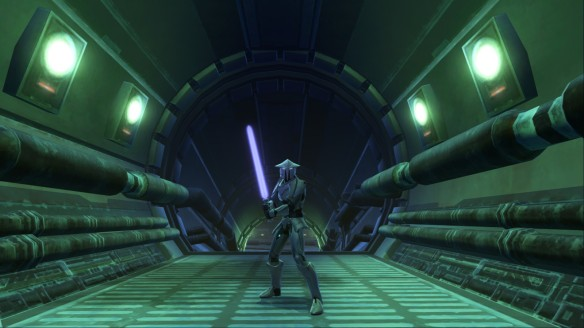 My Jedi knight in Star Wars: The Old Republic