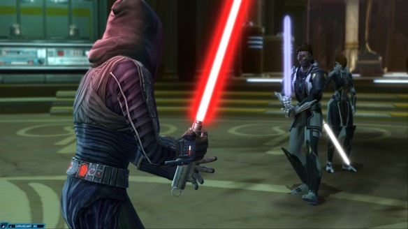 The Jedi knight story in Star Wars: The Old Republic