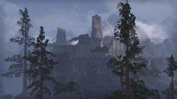 The Wrothgar zone in Elder Scrolls Online