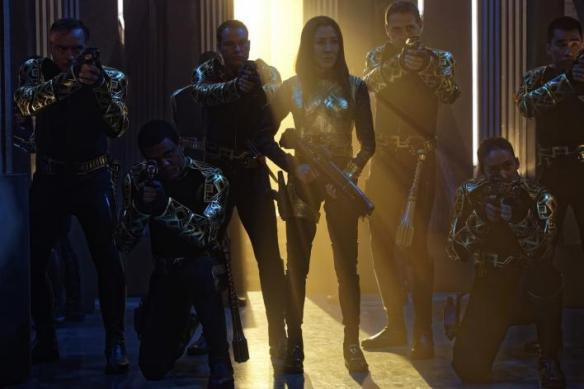 Michelle Yeoh as Empress Philipa Georgiou in Star Trek: Discovery