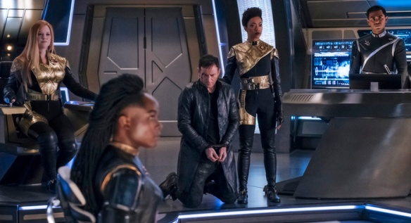The Mirror version of the Disovery (or reasonable facsimile thereof) in Star Trek: Discovery.