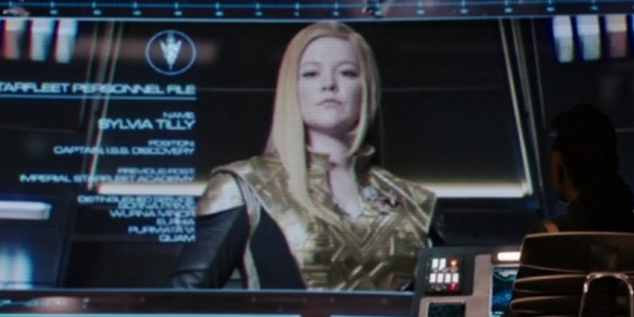 "Cadet Tilly's Mirror Universe counterpart, ""Captain Killy"""