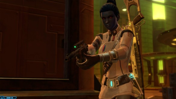 My Imperial agent goes full Tarantino in Star Wars: The Old Republic