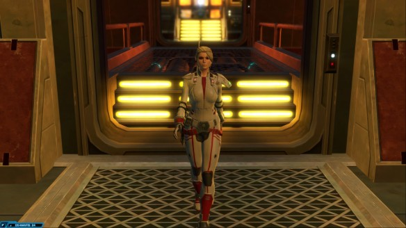 My bounty hunter in Star Wars: The Old Republic