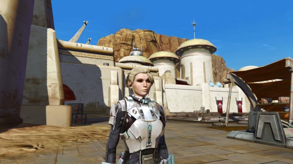 My bounter hunter in Star Wars: The Old Republic