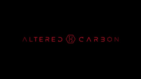 The logo for the Netflix series Altered Carbon