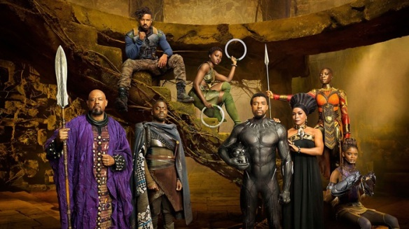 The cast of Black Panther.