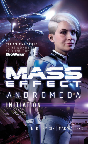Cover art for the Mass Effect: Andromeda novel Initiation