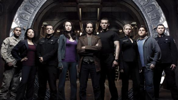 The cast of Stargate: Universe