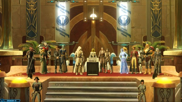 The ending of the Jedi consular story in Star Wars: The Old Republic