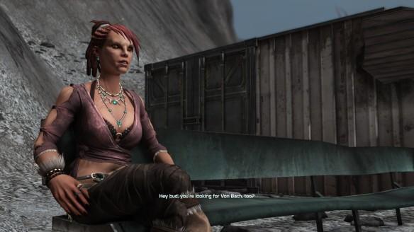 Cass Dukar in the MMO Defiance