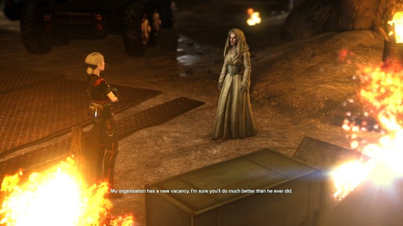 Stahma Tarr in the MMO shooter Defiance