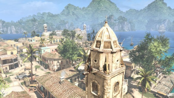 A shot from Assassin's Creed IV: Black Flag
