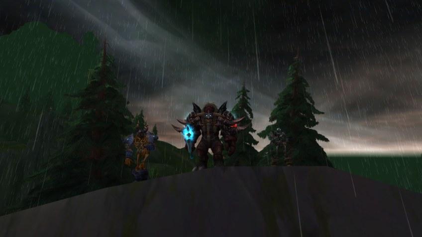 My Tauren death knight in World of Warcraft: Legion