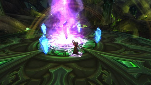 The quest to acquire Ebonchill, Greatstaff of Alodi in World of Warcraft: Legion
