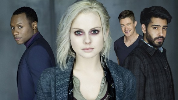 The cast of iZombie