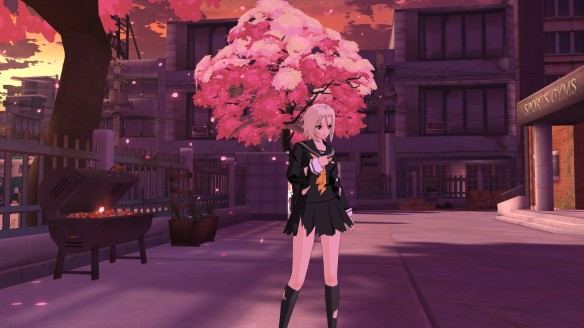 My character in the anime MMORPG Soulworker