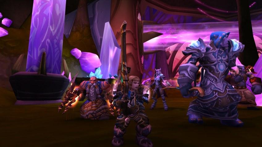 My Dwarf warrior in World of Warcraft: Legion