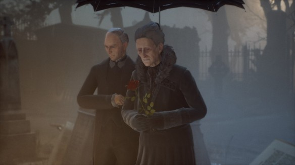A funeral in Vampyr