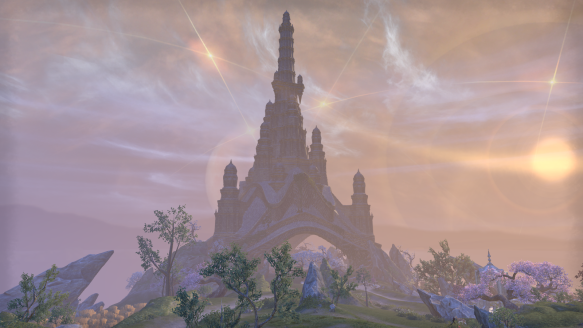 The mystical island of Artaeum in ESO's Summerset expansion