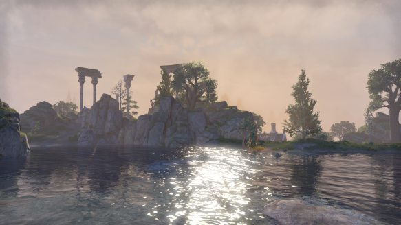 Yet another tranquil scene from Summerset in Elder Scrolls Online