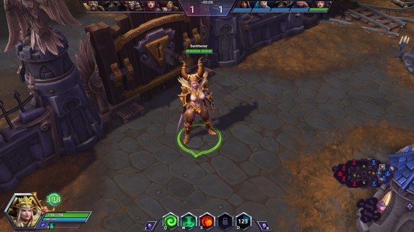 Playing as Alexstrasza the Dragon-Queen in Heroes of the Storm