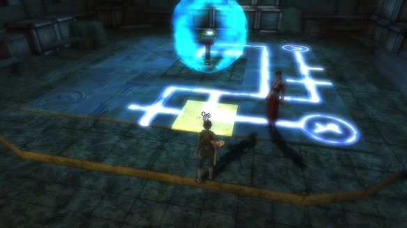 A puzzle in Dungeons and Dragons Online