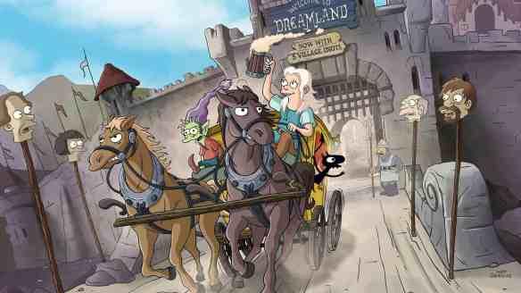 A shot from Netflix's Disenchantment