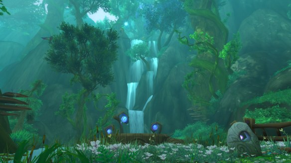 The druid class hall in World of Warcraft