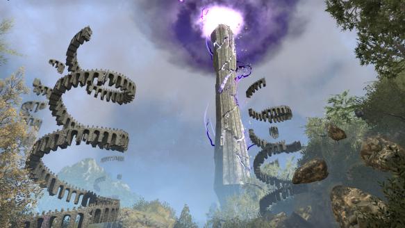 The Crystal Tower in Elder Scrolls Online