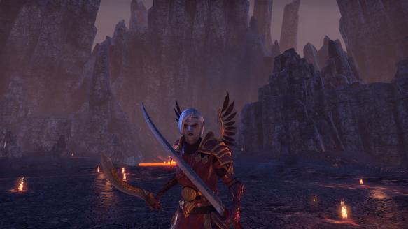 My Dunmer templar in Elder Scrolls Online