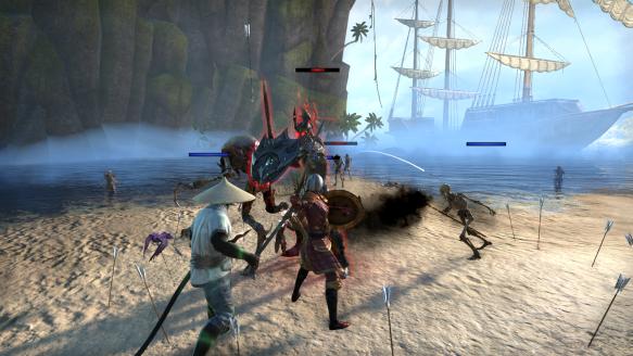 My templar tanking a dungeon in Elder Scrolls Online