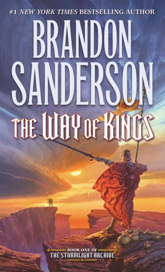 Cover art for The Stormlight Archive, book one: The Way of Kings by Brandon Sanderson