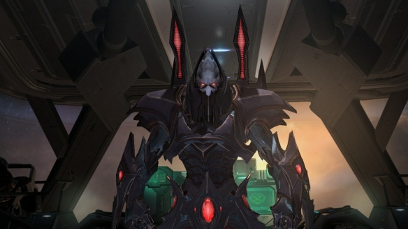 Alarak in StarCraft II's Covert Ops DLC