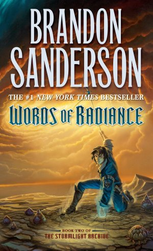 Cover art for The Stormlight Archive, book two: Words of Radiance by Brandon Sanderson
