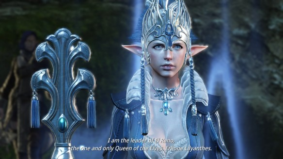 A story cinematic in Bless Online