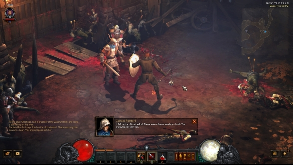 My crusader in Diablo III