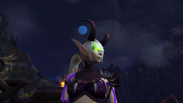 My Blood Elf demon hunter in World of Warcraft