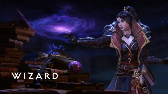 The wizard class in Diablo: Immortal