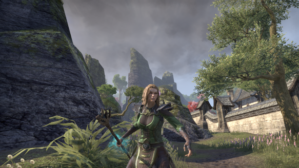 My Altmer warden in Elder Scrolls Online