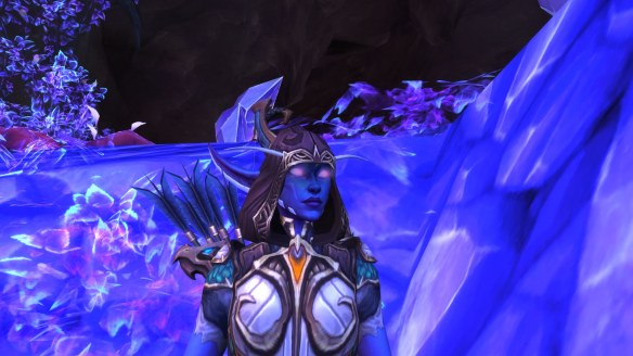 My Nightborne hunter in World of Warcraft