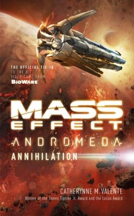 Cover art for Mass Effect: Andromeda: Annihilation by Catherynne M. Valente