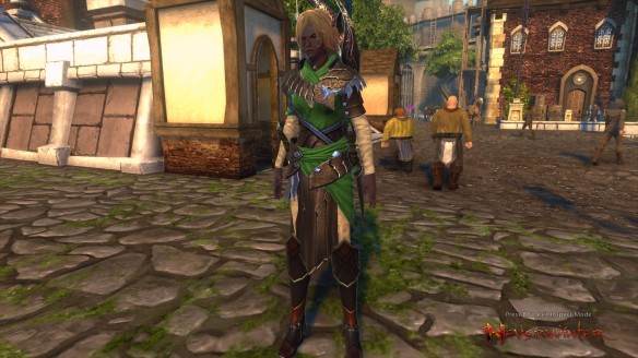 My Drow hunter ranger in Neverwinter