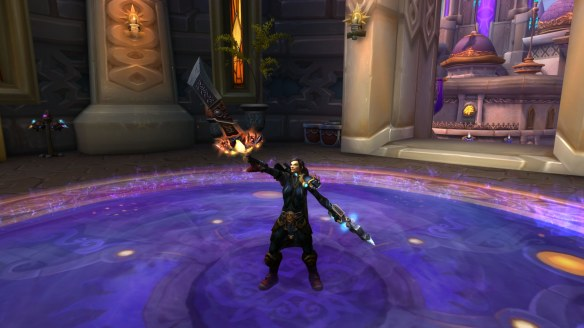 My human rogue in World of Warcraft