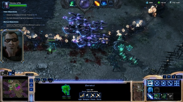 Zeratul in StarCraft II co-op