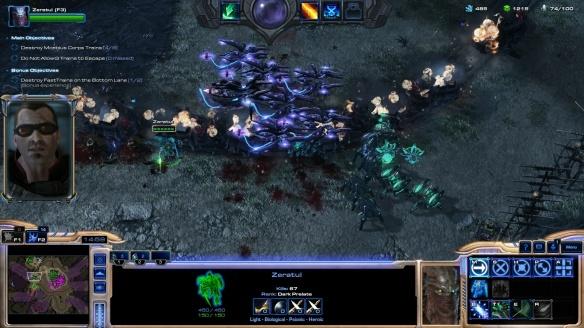 Zeratul in StarCraft II co-op